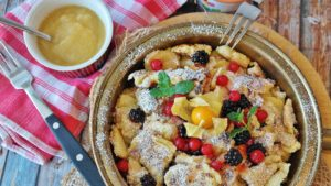Icewine Austrian Schmarrn Pancakes